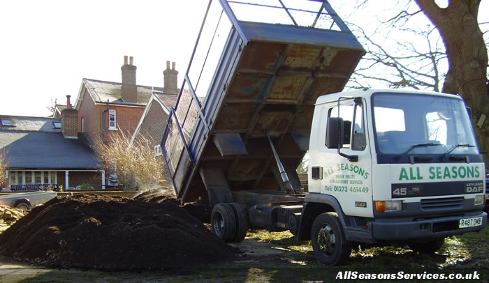 Brighton compost delivery