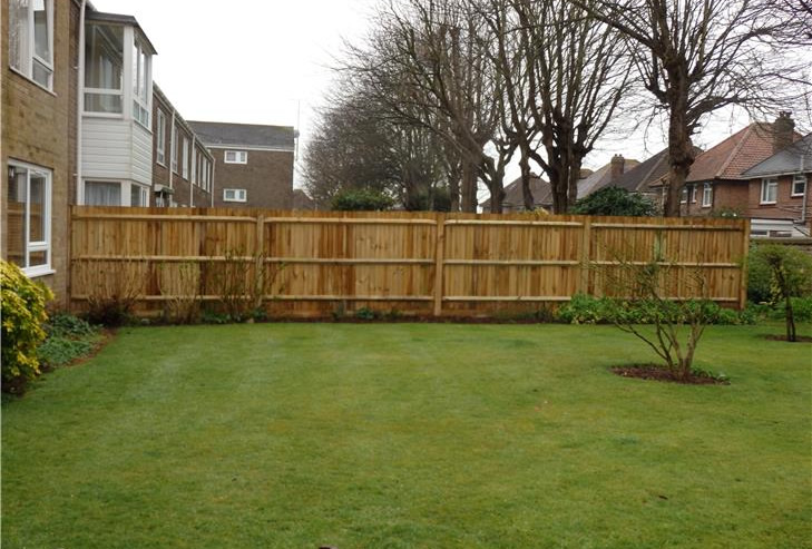 Brighton fencing construction job 1