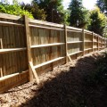 Another run of fencing completed