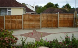 panel-fence-with-concrete-posts