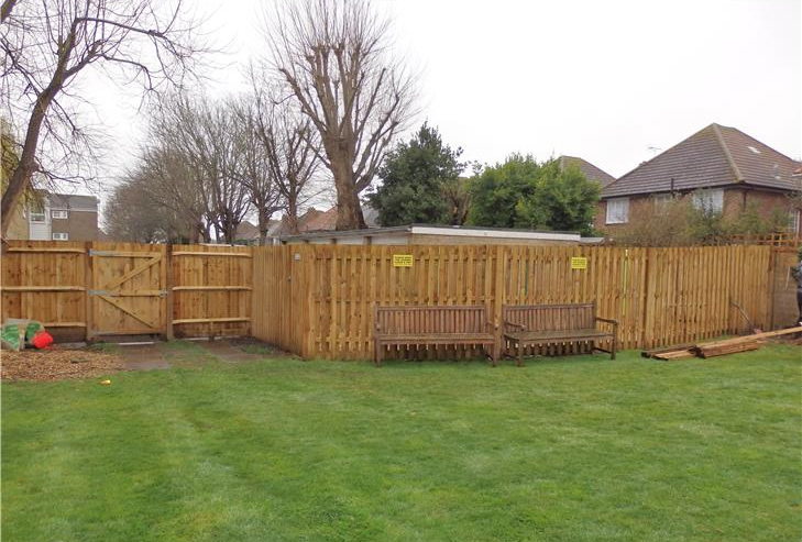 Brighton fencing construction job 2