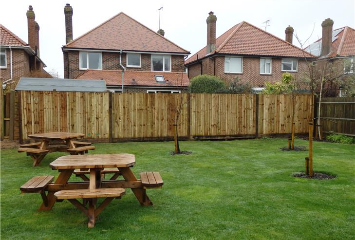 Brighton fencing construction job 3