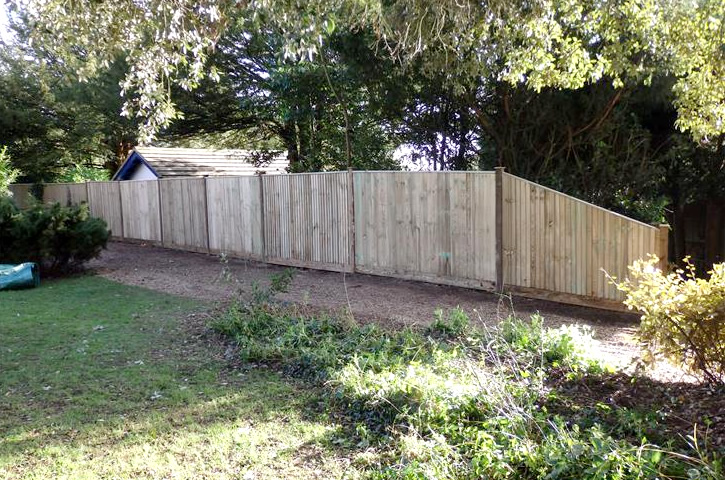 Worthing fencing job