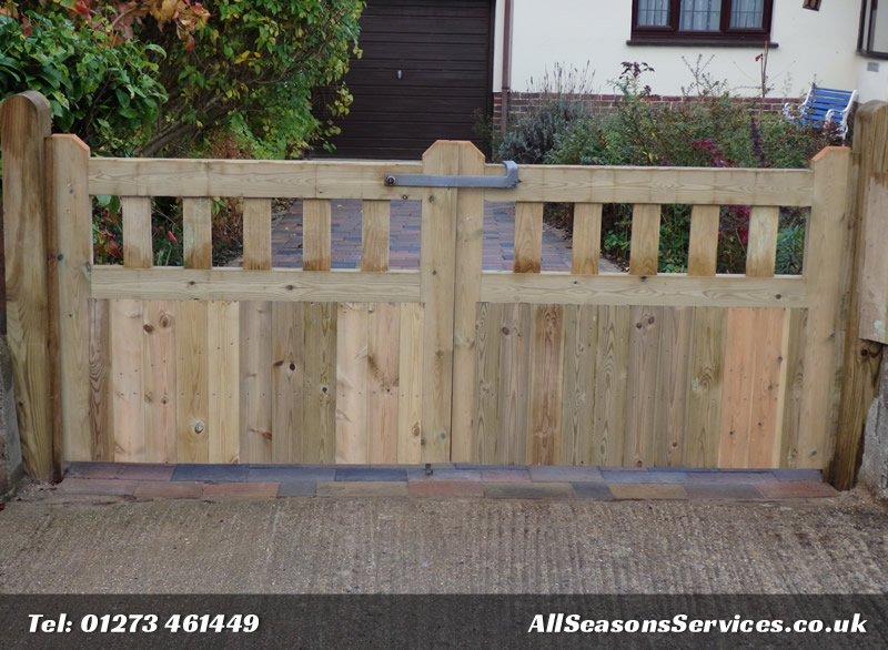 Made to measure drive gates